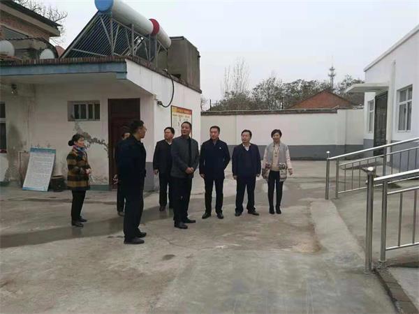 深入到小浪底镇,横水镇和白鹤镇调研农村敬老院消防安全工作.