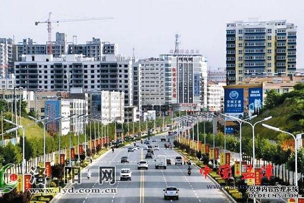 朝阳新县城设计图