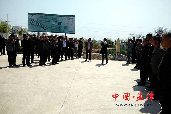 林州市桂林镇到我县考察美丽乡村建设图片